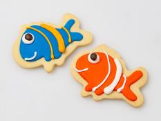 CC Large Kids Clown Fish Cookies 24x34g