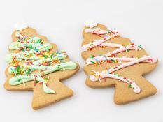 CC Extra Large Ginger Bread Trees - Pastels