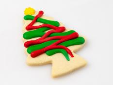 CC Extra Large Shortbread Decorated Christmas Trees