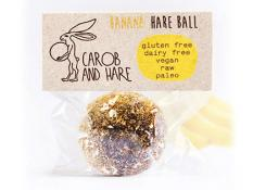 CH - 12 WRAPPED Banana Hare Balls -  GF,DF,V,Raw