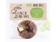 CH - 12 WRAPPED Mint Hare Balls -  GF,DF,V,Raw