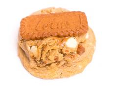 GCC Biscoff Cookie Butter & White Chocolate Cookie