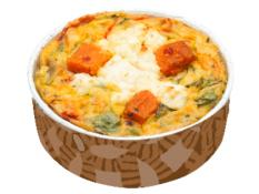 Sweet Potato, Pumpkin, Spinach & Fetta Gluten-Free Frittata