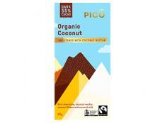 Chocolate - Organic Coconut FTO - Pico - 12x80g