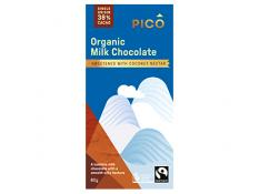 Chocolate - Organic Milk Chocolate FTO - Pico - 12x80g