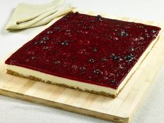 SBN Catering Block Berry Cheesecake