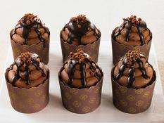 SBN Cupcakes Chocolate Mud Slide (6PK)