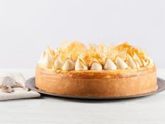 "SBN 12"" Cheesecake Caramel & Macadamia Gluten Free"