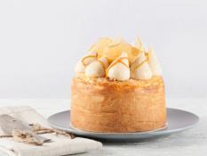 "SBN 5"" Cheesecake Caramel & Macadamia Baby Cake Gluten Free"