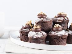SBN Petite Chocolate Walnut Fudge 2.5 (Gluten Free)(6PK)