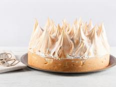 "SBN 12"" Lemon Meringue Cake Gluten Free"