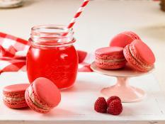 SBN Macarons Raspberries & Cream (Gluten Free)