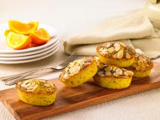 SBN Friand- Orange, Chia & Poppyseed (Gluten Free)