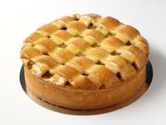 """TC 9""""  Medium Apple Pie - Lattice Top"""
