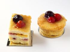 TC 3.5 Berry Bread & Butter Pudding