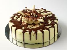 "TC 9""  Medium Cheese Cake Baileys"