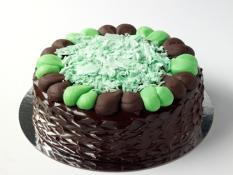 "TC 9""  Medium Choc Mint Ripple Cake"