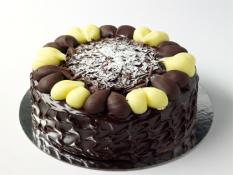 "TC 9""  Medium Choc Ripple Cake"