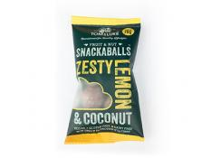 Snackaballs - Zesty Lemon and Coconut - Tom and Luke - 20x70g