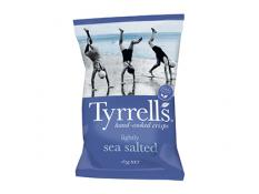 Crisps - Lightly Sea Salted - Tyrrells - 9x165g Gluten Free