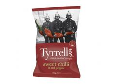 Crisps - Sweet Chilli & Red Pepper - Tyrrells - 9x165g Gluten Free