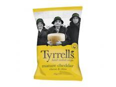 Crisps - Mature Cheddar Cheese & Chives - Tyrrells - 9x165g Gluten Free