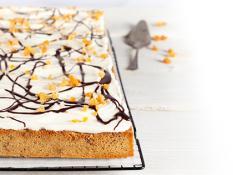 Flourless Choc Almond Catering Box uncut - Gluten Free
